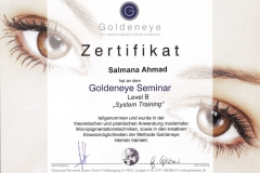Permanent Make up Zertifikat