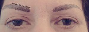 permanete augenbrauen nach - Permanent Make-up