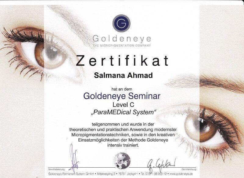 Goldeneye Pigmentistin