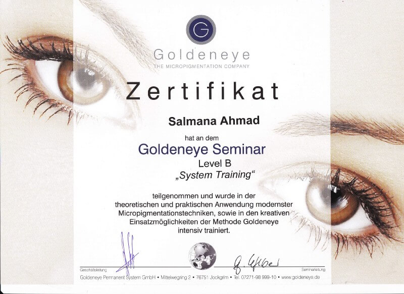 Goldeneye Permanent Make-up